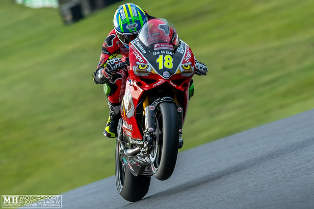 Andrew Irwin #18, Paul Bird Motorsport Ducati