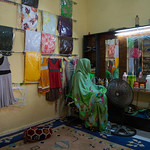 IOM Mauritania - Mouna in her shop, Flowers and Victims of trafficking