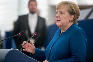 Merkel: Nationalism and egoism must never have a chance again in Europe | by European Parliament