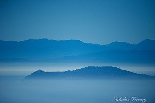 The View Across The Straits Of Gibraltar | by Nicholas Ferrary