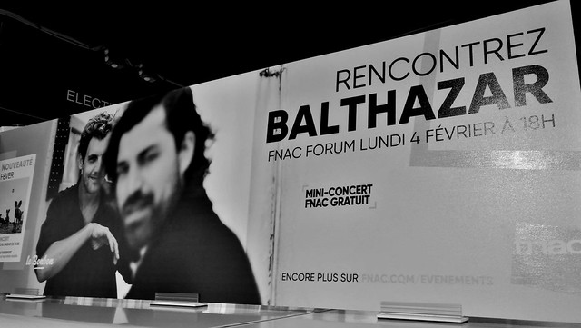 Balthazar @ Paris Showcase FNAC 2019