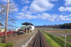 昔は島式だった駅ホーム