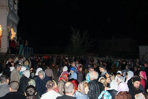 Пасхальное Богослужение в Свято-Никольском храме станицы Кавказской IMG_1501