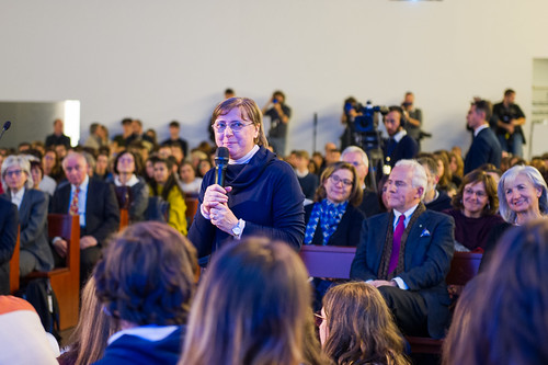 Il Presidente Mattarella al Sermig