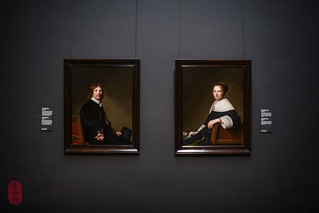 Portraits of Eduard Wallis and Maria van Strijp | by ulterior epicure