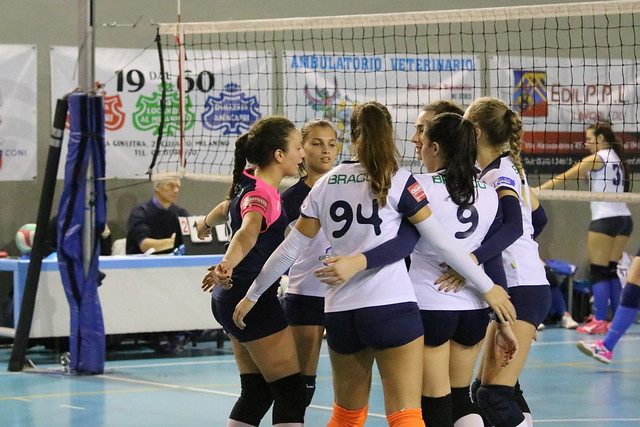Coppa Regular Level  - 16 Novembre 2018 Volley Angels Cusano - Bracco Pro Patria 1 - 3