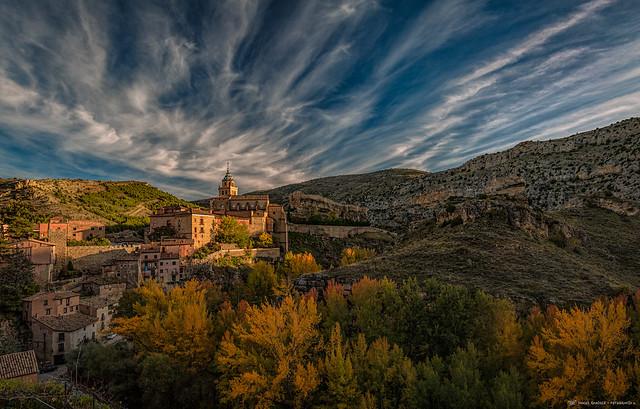 Atardecer en Albarracín