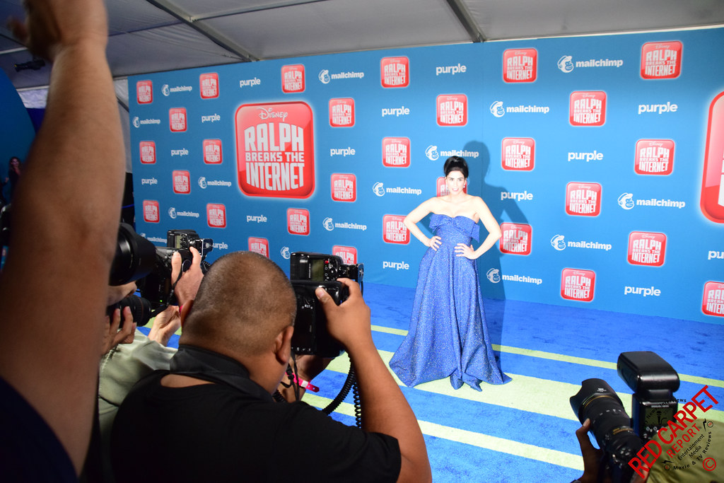 Sarah Silverman At Disney S Ralph Breaks The Internet Wo Flickr