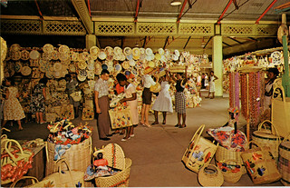 Straw Section, Victoria Crafts Market, Jamaica | by SwellMap