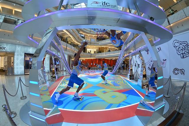 Shanghai - Basketball in the Mall