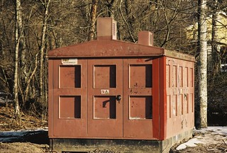 Röda transformatorhuset