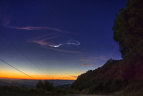 lomaprieta lomaprietamountain santacruz losgatos california usa meteor meteortrail sky clear landscape outdoor sunset night sony a6000 selp1650 1xp raw photomatix hdr qualityhdr qualityhdrphotography fav100