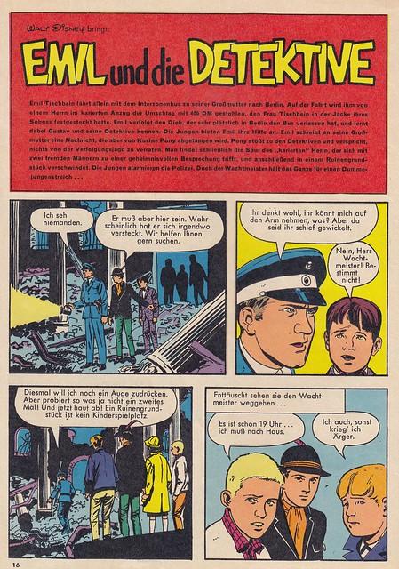 Mickyvision #18/1965 / splash panel