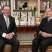 2019_01_23 CGDL Visite de courtoisie de Fernand Etgen président de la chambre des députés auprès de S.A.R. le Grand-Duc Jean au château de Fischbach