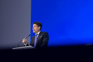 Special Address by Giuseppe Conte, Prime Minister of Italy. | by World Economic Forum