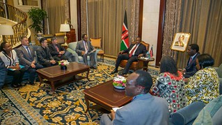 Uhuru Kenyatta in China11 | by Kabuubi Media Africa