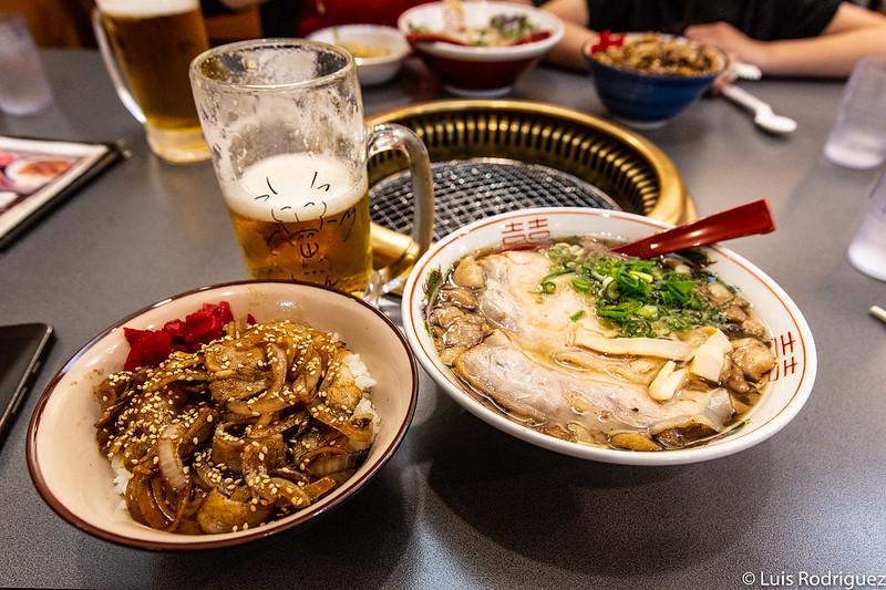 Ramen de Onomichi con seabura y mollejas de pollo