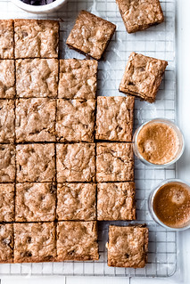 Espresso Chocolate Chip Blondies | by Smells Like Home