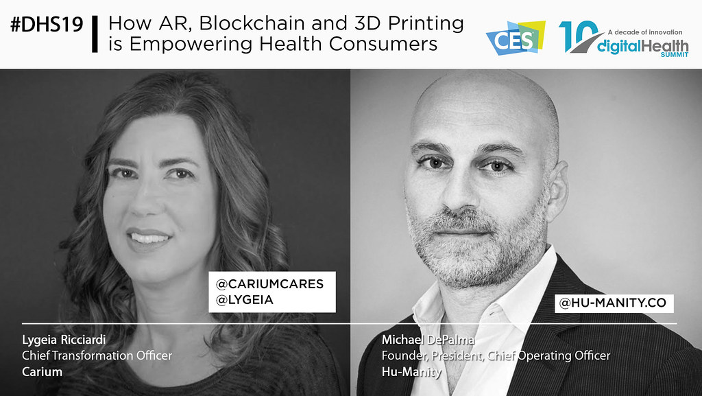 38 - 350PM How AR Blockchain and 3D Printing is Empowering Health Consumers