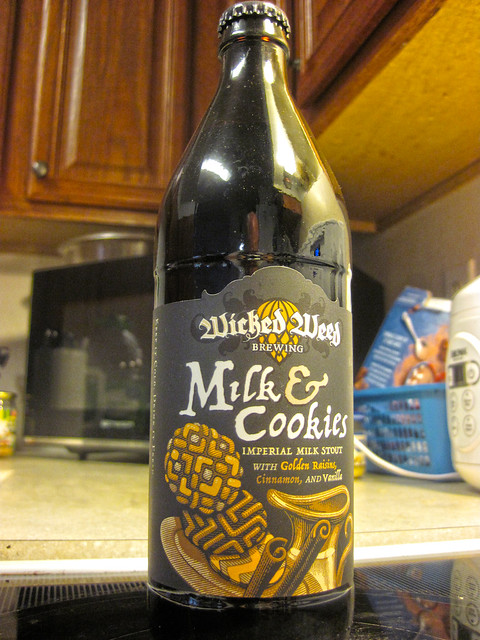 Milk & Cookies - Wicked Weed Brewing