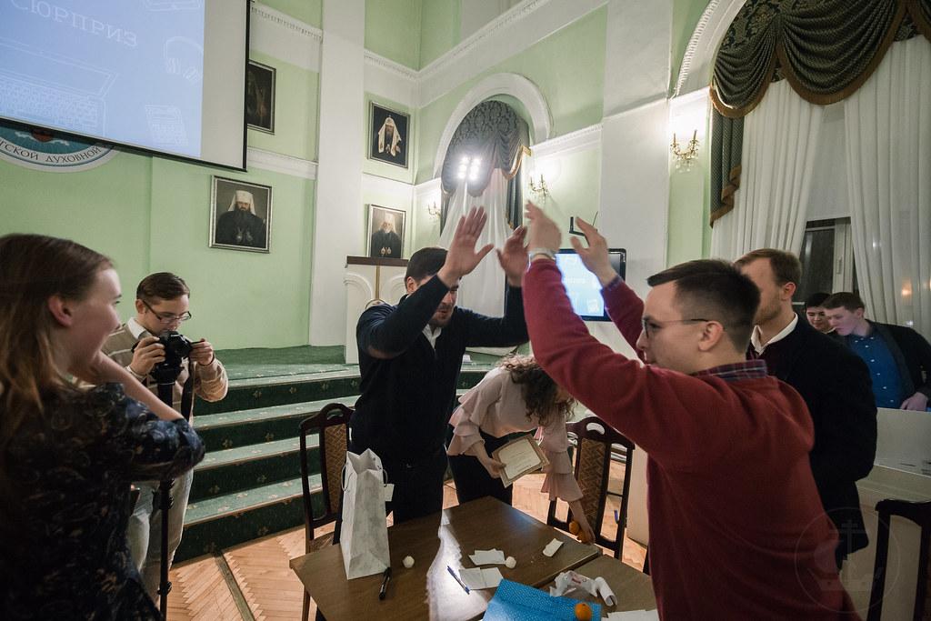10 декабря 2018, Первая Academy game в СПбДА / 10 December 2018, First Academy game in SpTA