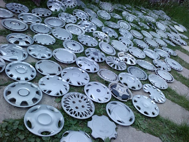 Hubcap collection