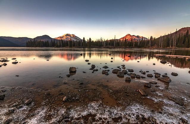 Sparks Lake Late Season