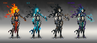 Darksiders 3 concept art | by PlayStation.Blog