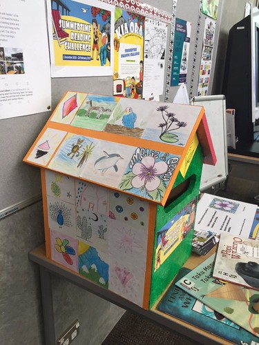 Aranui postbox for Summertime Reading Challenge