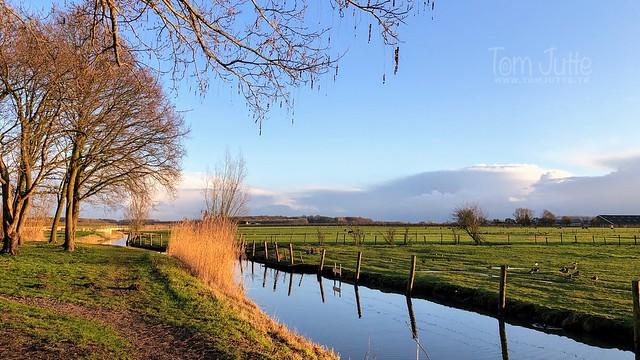 Walk along the Kromme Rijn, Odijk, Netherlands - 2268