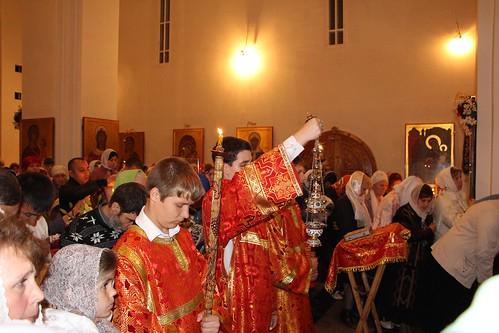 Пасхальное Богослужение в Свято-Никольском храме станицы Кавказской IMG_1416