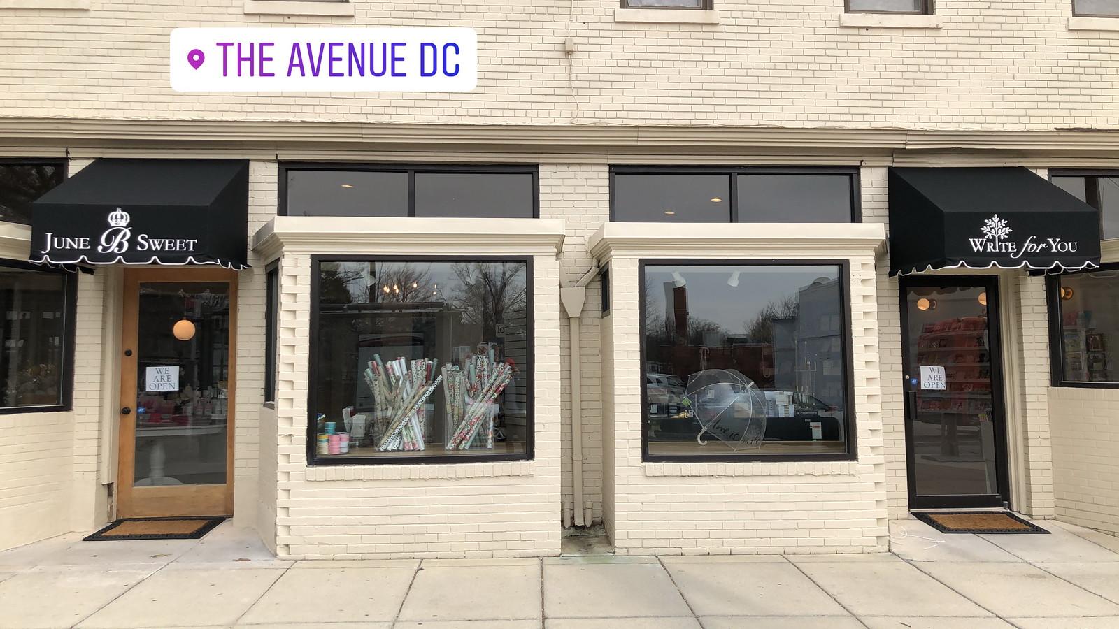 Washington DC Shop Awning