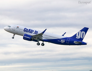 F-WWDN Airbus A320 Neo Go Air | by @Eurospot
