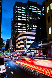 Sydney Night Traffic | by boxyinfinity