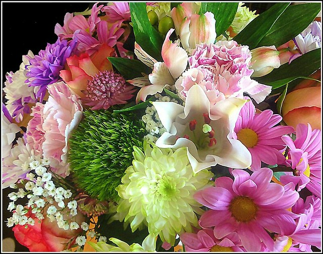 Mixed Flowers ..