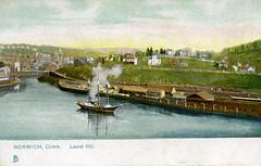 Sailing sloop - Norwich harbor  036rogsteam