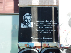 America has only three cities: New York, San Fancisco, and New Orleans. Everywhere else is Cleveland — Tennessee Williams
