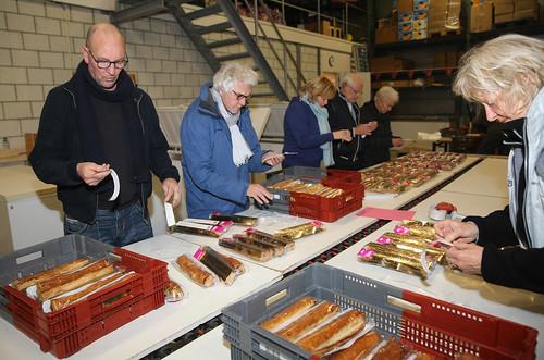 Banketstaven voor de voedselbank © WEEFF/Persbureau Annes