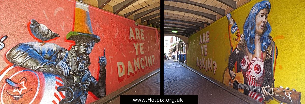 GoTonySmith,HotpixUK,Hotpix,Tony Smith,HousingITguy,365,Project365,2nd 365,HotpixUK365,Are Ye Dancing,Are Ye Asking,HotpixUK GoTonySmith,Sloans,Glasgow,Art,mural,murals,Duke of Wellington,Traffic Cone,Guitar,busker,Tunnocks,Teacakes,Tunnock,Tunnocks Teacakes
