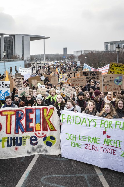 Fridays for Future - Schulstreik am 25.01.2019