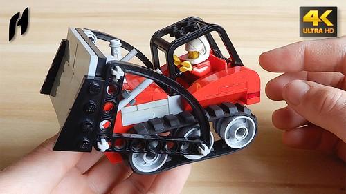 How to Build Modified 60140 Bulldozer Break-In (4K) | by hajdekr