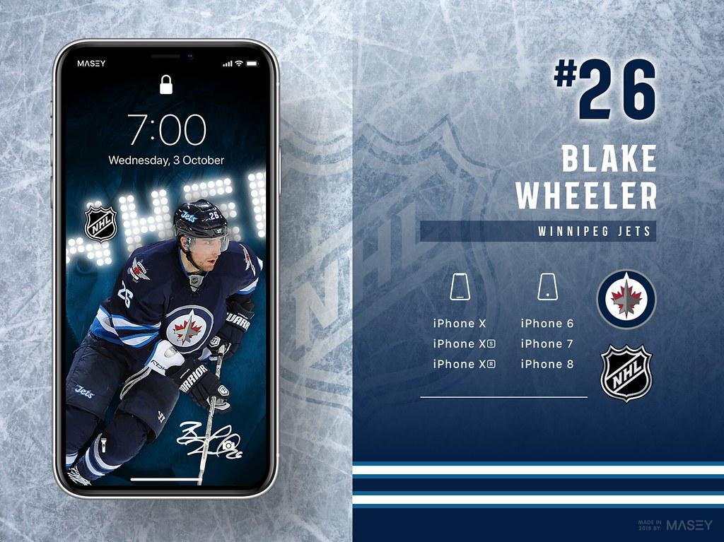 26 Blake Wheeler Winnipeg Jets Iphone Wallpapers Flickr