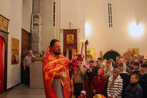 Пасхальное Богослужение в Свято-Никольском храме станицы Кавказской IMG_1326