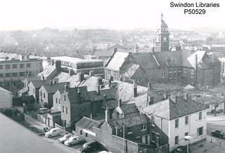 1960s: Regent Circus and Commercial Road, Swindon | by Local Studies, Swindon Central Library