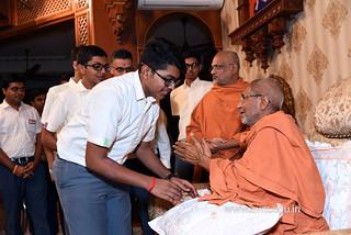 Std-10-11-12-visit-to-Haridham-for-Swamishree's-Blessings-(97) | by Atmiya Vidya Mandir