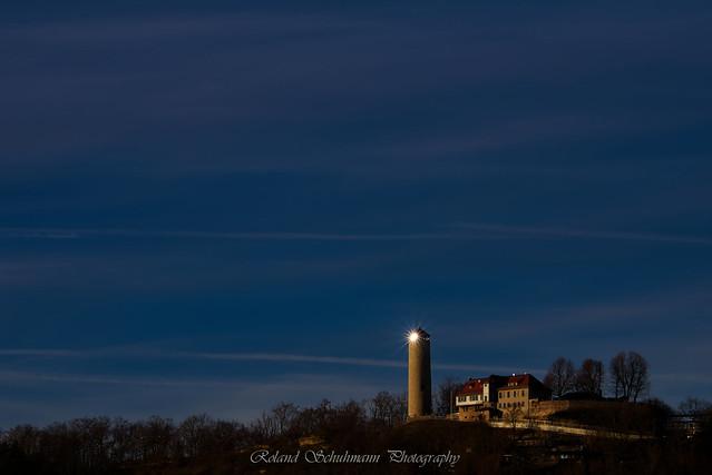 Fuchsturm in the evening sun