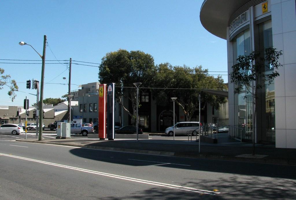 Splay Corner, Zetland, Sydney, NSW.