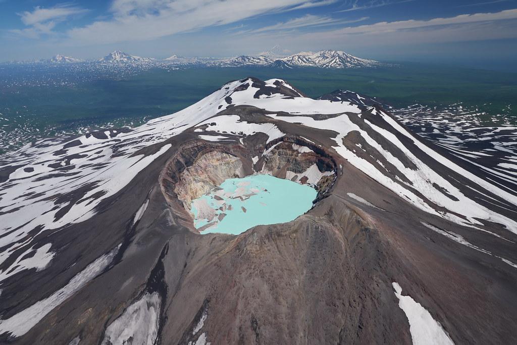 Volcano Maly Semyachik ♡