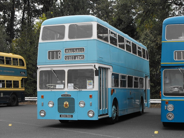 56, XDH 56G, Daimler Fleetline CRC6-36, Northern Counties Body (H51-34D), 1968 (1)
