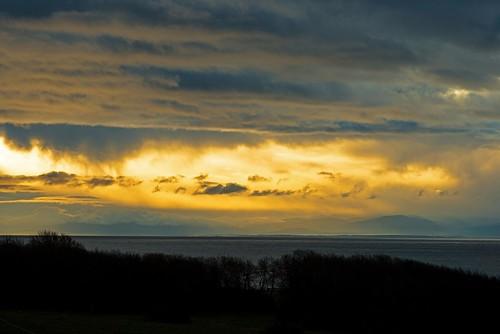 sunrise clouds cloudy juandefuca salishsea pacific ocean victoria jamesbay hollandpoint canada nikkor nikon